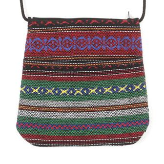 Thai Weave Passport Bag