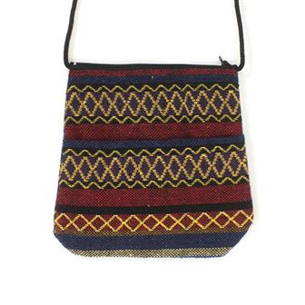 Thai Weave Passport Bag