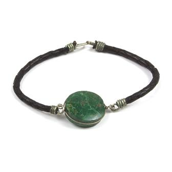Green Stone Wristbands