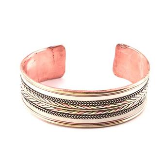Banded Copper Bracelet