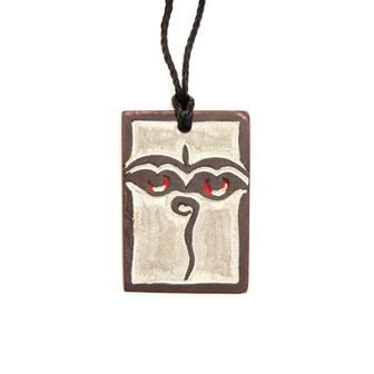 Rectangular Mini Stone Pendant