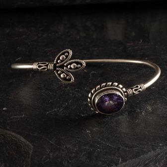 Nepalese Silver Bracelet No.9