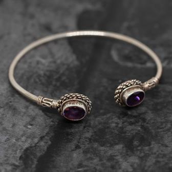 Nepalese Silver Bracelet No.10