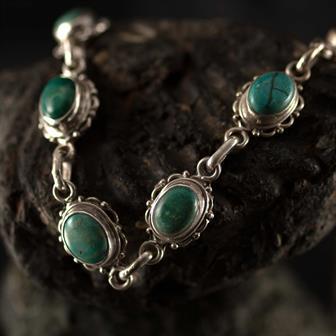 Nepalese Silver Bracelet No.13