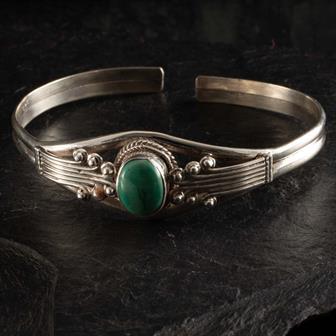 Nepalese Silver Bracelet No.12