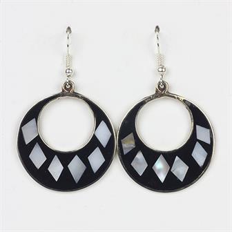 Hilaria Black Earrings