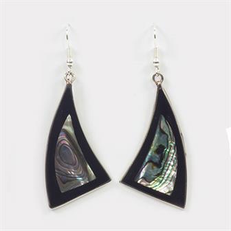 Abalone Sail Earrings