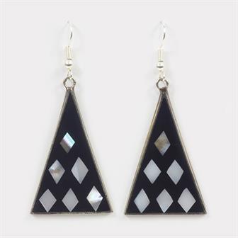 Bernadine Pirámide Earrings