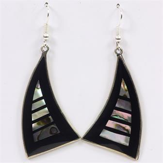 Lined Sail Earrings