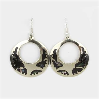 Splash Circle Earrings