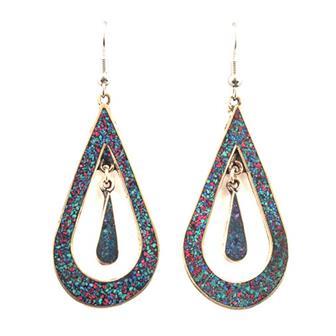 Grande Double Drop Earrings