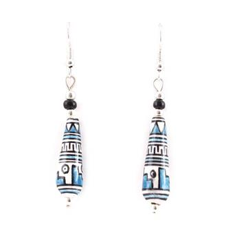 Adelita Peruvian Beaded Earrings