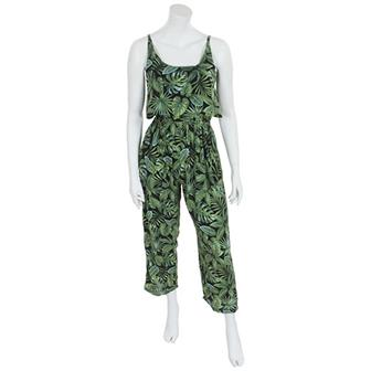 Jungle Print Jumpsuit