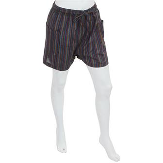 Nepalese Stripe Summer Shorts