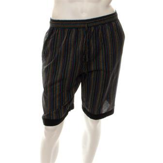 Stripe and Trim Shorts