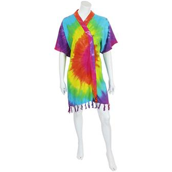 Rainbow Kimono Jacket