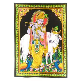 Lord Krishna Wall Hanging