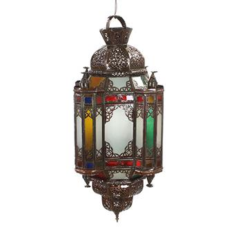 Casablanca Glass Pendant Moroccan Lantern