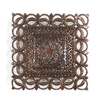 Square Metalwork Light Cover