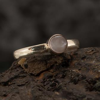 Moonstone Nepalese Silver Ring