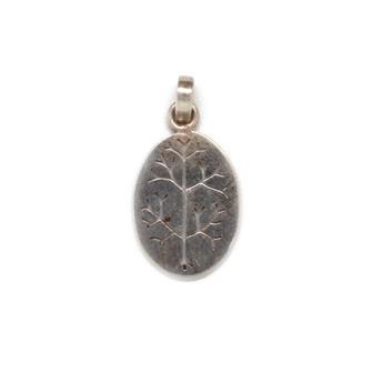 Tree Nepalese Silver Pendant