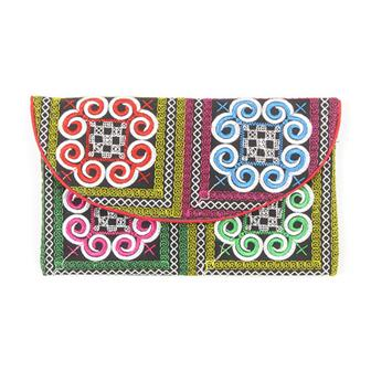 Thai Spirals Popper Purse