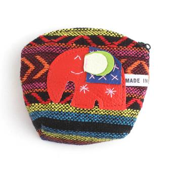 Thai Weave Elephant Purse