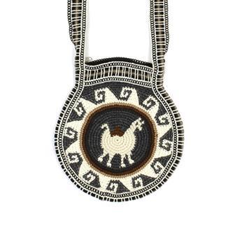 Round Llama Bag