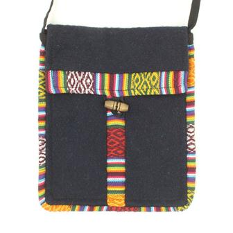 Woollen Passport Bag