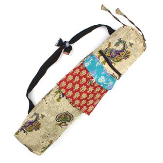 Sari Patch Yoga Bag