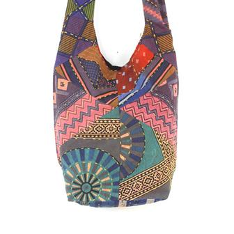 Kantha Patch Shoulder Bag