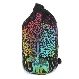 Indian Elephant Tree Duffle Bag