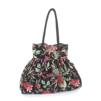 Kantha Stitch Beach Bag