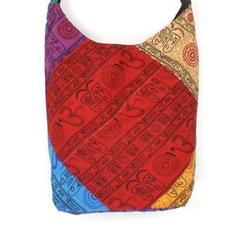 Hindu Fabric Patch Bag