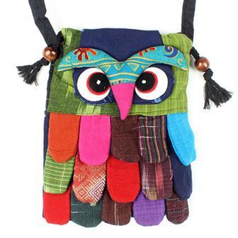 Owl Passport Bag
