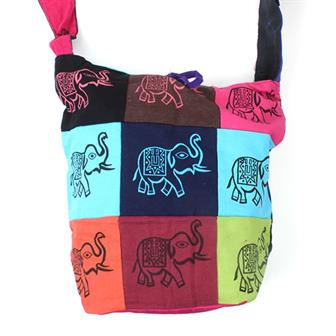 Patch Elephant Bag