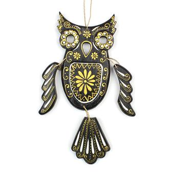 Candy Skull Owl