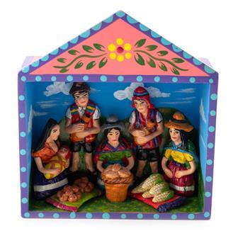 Traditional Market Retablo