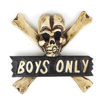 Boys Only Door Plaque