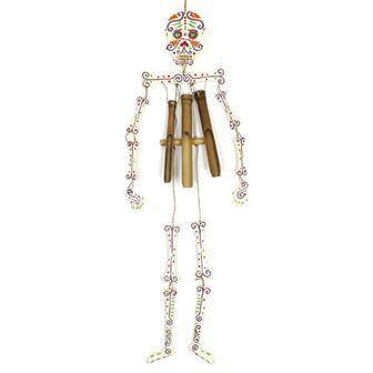 Candy Skeleton Windchime