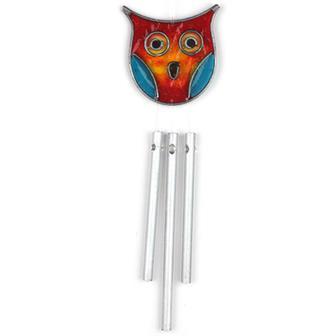 Owl Suncatcher Chime
