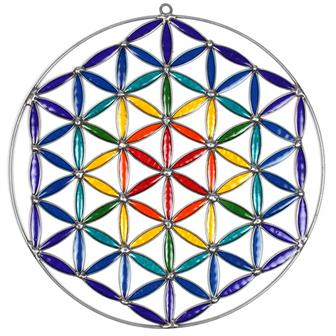 Fine Flower of Life Suncatcher