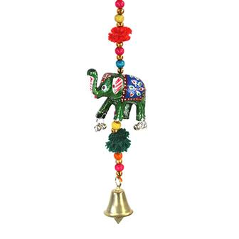 Hanging Elephant with Bell