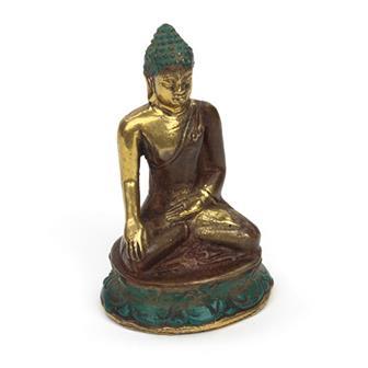 Bronze Effect Buddha