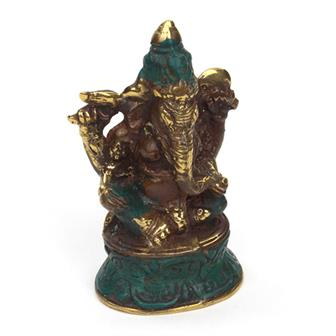 Bronze Effect Ganesh