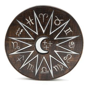Zodiac Crescent Moon Plaque