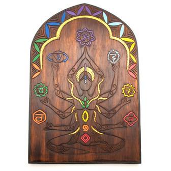Seven Chakra Yogini Plaque
