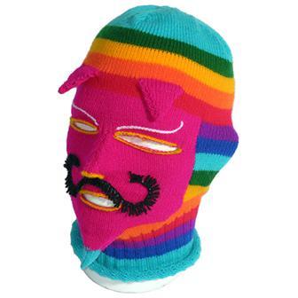 Rainbow Face Balaclava