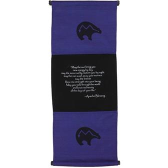 Apache Blessing Affirmation Hanging