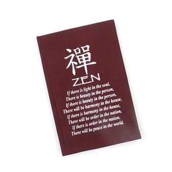 Zen Affirmation Notebook
